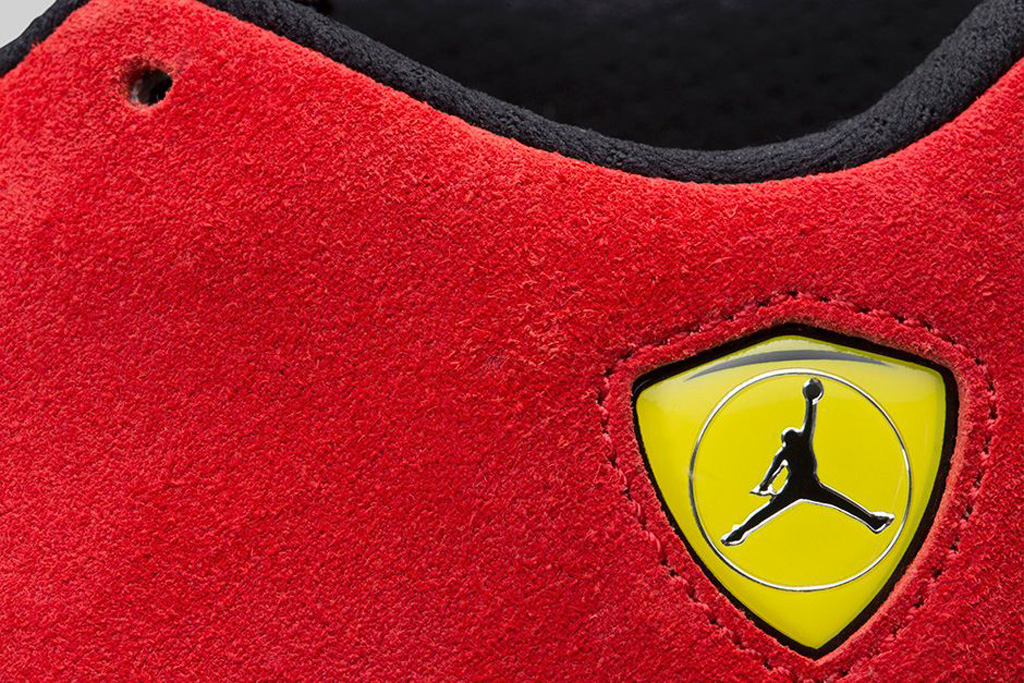 db088e08636 An Official Look at the 'Ferrari' Air Jordan 14 Retro | Sole Collector