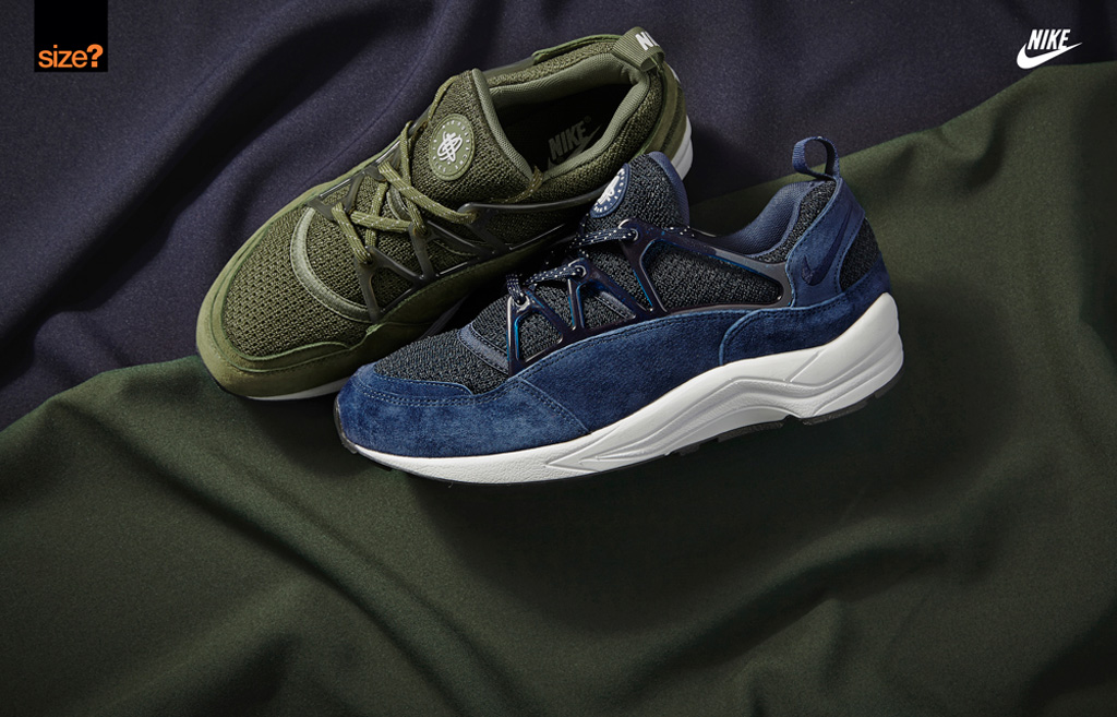 x nike air huarache army green