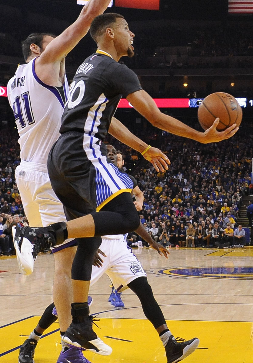 online store f77f7 8975f SoleWatch: Steph Curry Takes Care of Business in the 'Suit ...