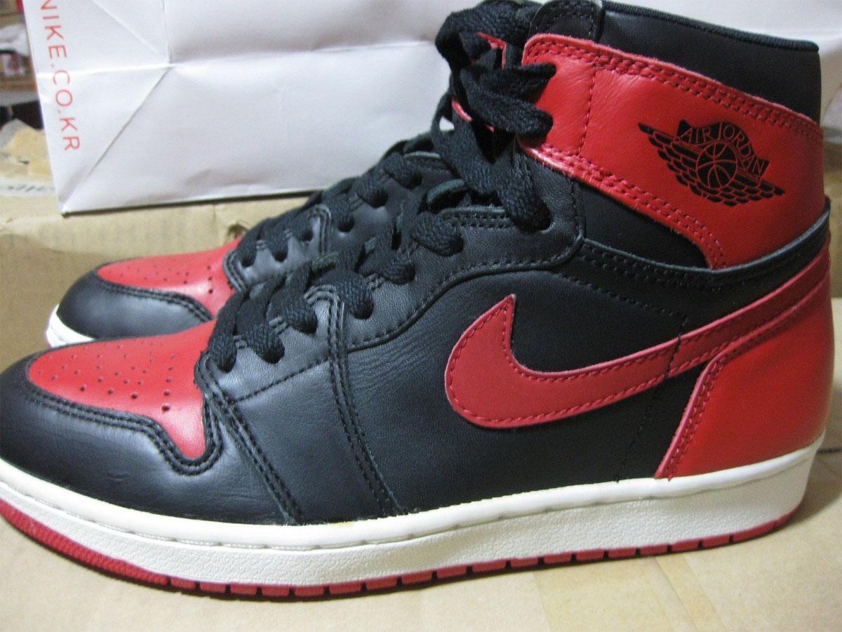 separation shoes b6fe8 a7006 Air Jordan 1 Bred (1994)