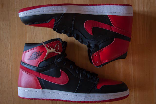 Spotlight // Pickups of the Week 6.30.13 - Air Jordan I 1 Retro Black Red 2001 by terx