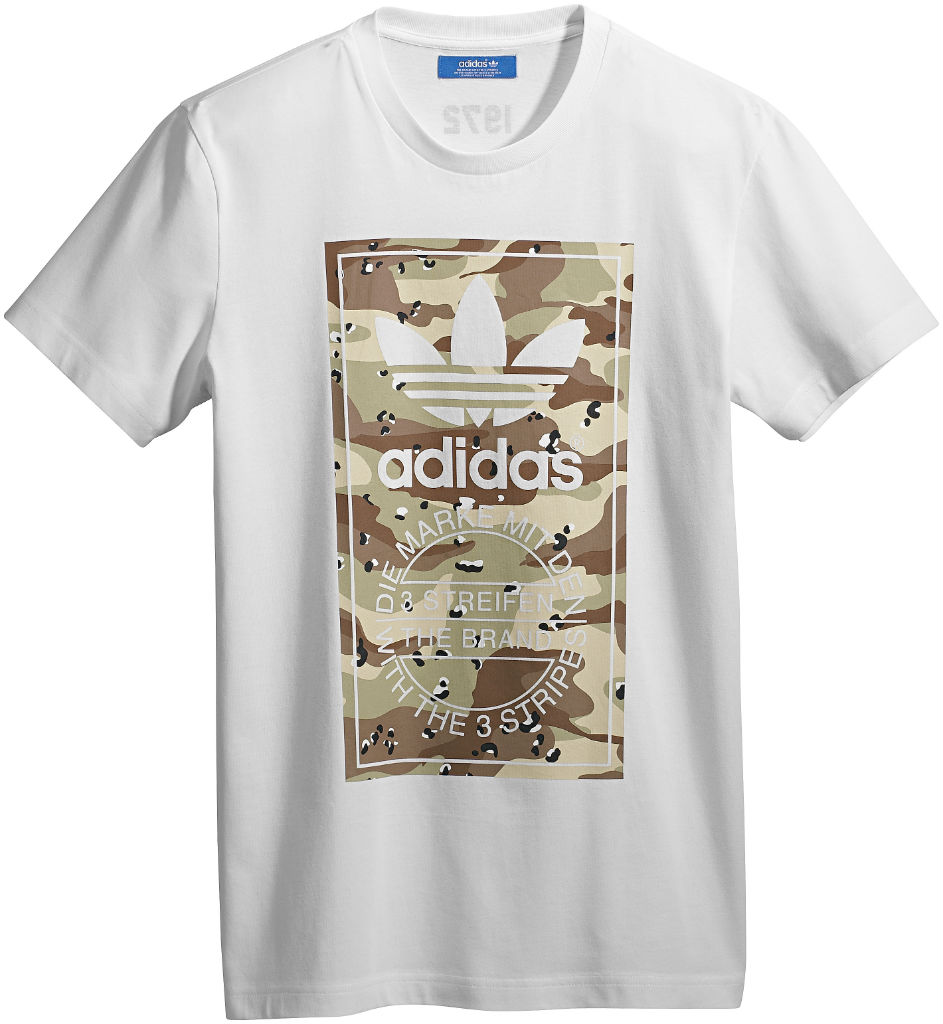 adidas Originals Camo Pack - Spring/Summer 2013 - T-Shirt Z30321 (1)