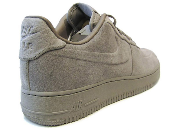 nike air force premium grey