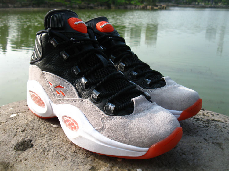 0cfcc09e2acf Reebok Pump x Question. Reebok Classics combines two of their most iconic  ...