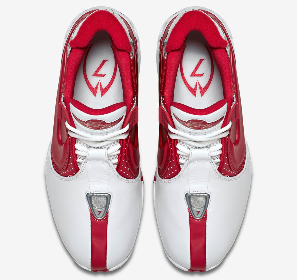 Nike Zoom Vick 2 Falcons White/Red 599446-101 (4)