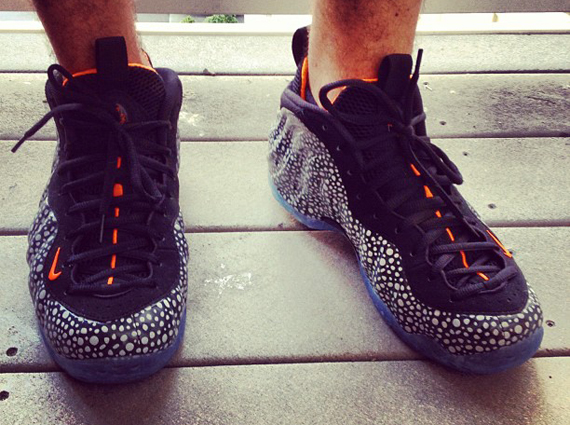 Nike Foamposite Safari