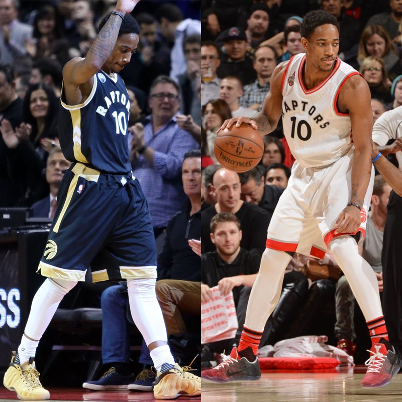 #SoleWatch NBA Power Ranking for January 31: DeMar DeRozan