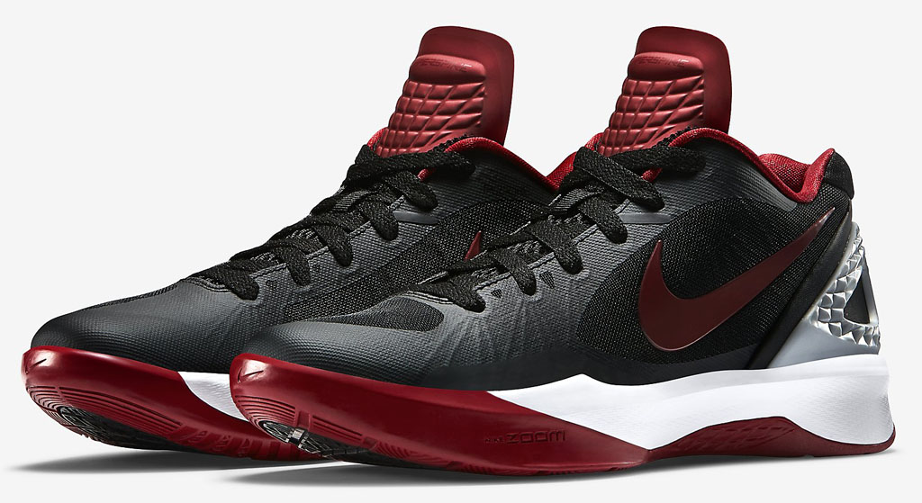 Nike Zoom Volley Hyperspike Black/White-Red (1)