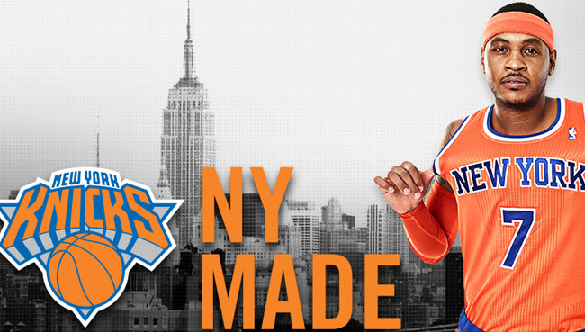 super popular 46613 0ae46 New York Knicks Unveil Orange Alternate Jerseys | Sole Collector