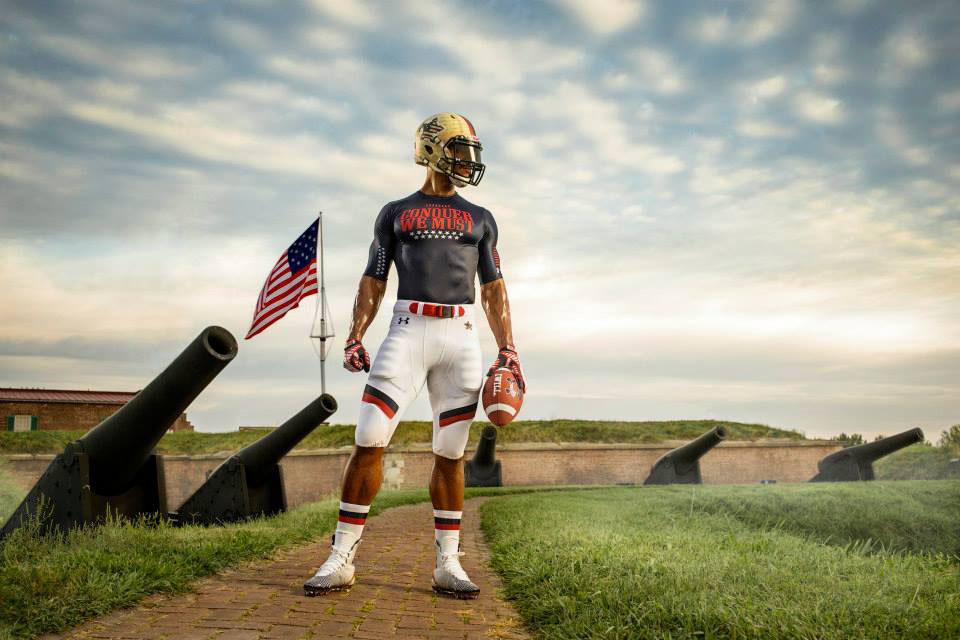 Maryland's Under Armour 'Star-Spangled Banner' Uniforms (4)