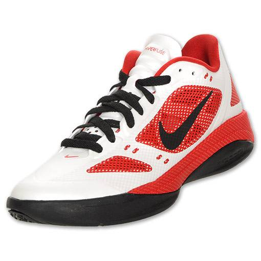 Nike Zoom Hyperfuse 2011 White Sport Red Black 454137-101