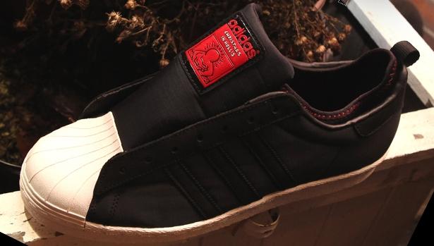 adidas Originals Superstar 80s Black/Red-White Vapor