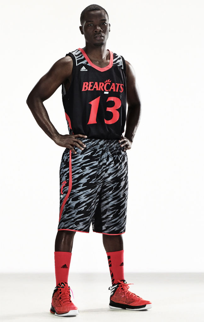 adidas Unveils adizero NCAA Basketball Uniforms For Six Teams - Cincinnati Bearcats