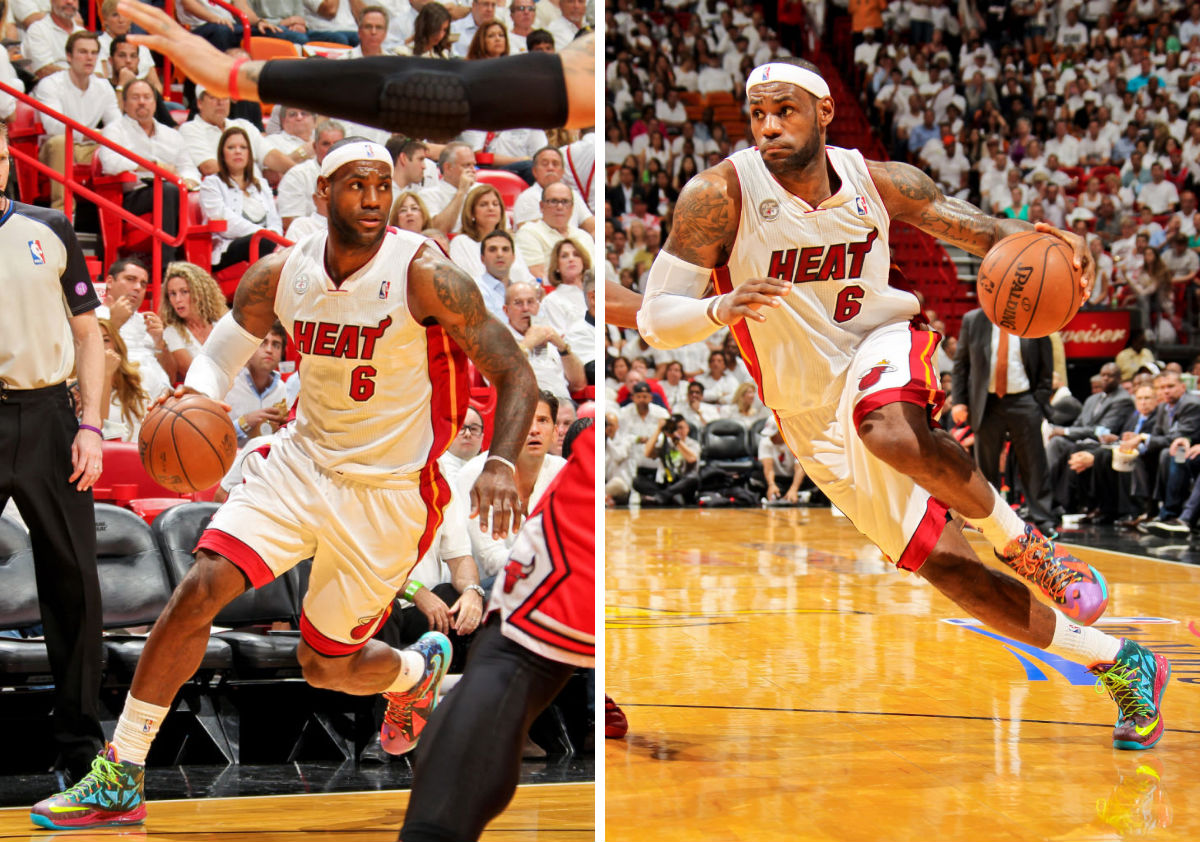 LeBron James wearing Nike LeBron X What the MVP (8)