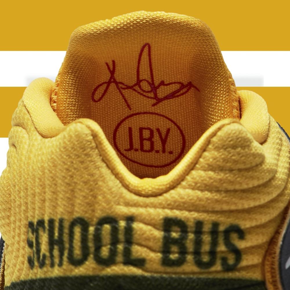 School Bus Kyrie 2 Detail
