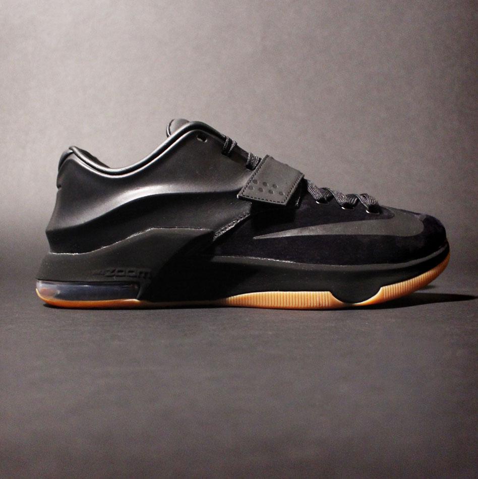 Nike KD VII 7 Black Suede The BAdd35st 717593-001 (4)
