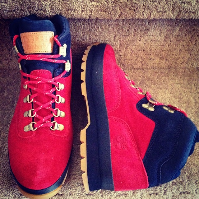 Shane Victorino Picks Up 10 Deep x Timberland Euro Hiker Nomad