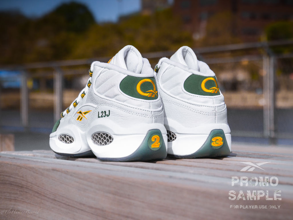 28b2fe90fdb Packer Shoes x Reebok Question LeBron   Kobe  For Player Use Only ...