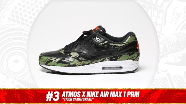 Complex Best of 2013: atmos x Nike Air Max 1 PRM is the #3 Sneaker of the Year