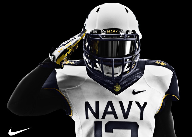 Army And Navy Reveal New Nike Football Uniforms Sole