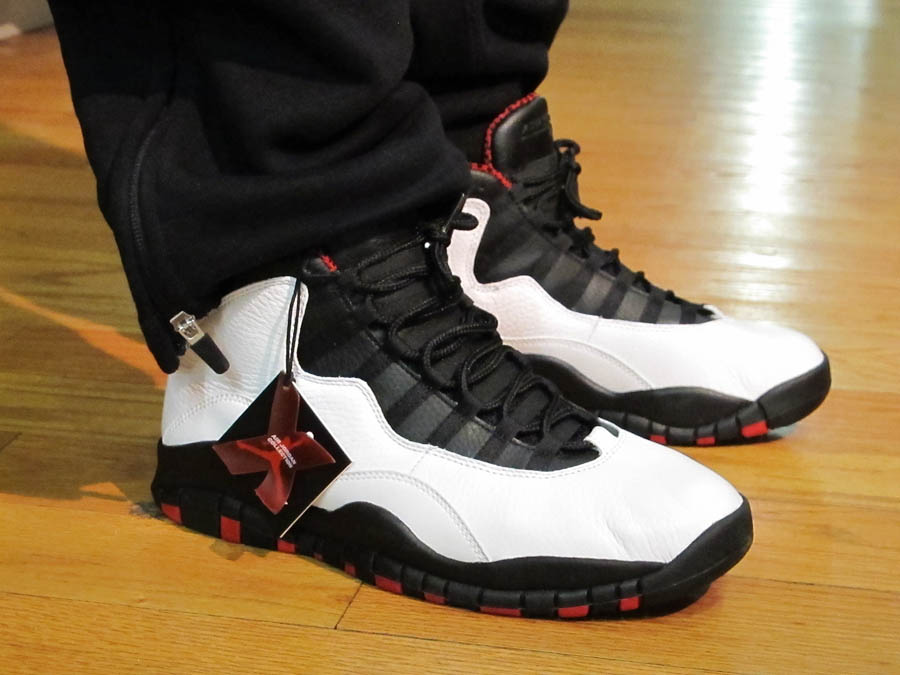 Air Jordan 10 Chicago 2012
