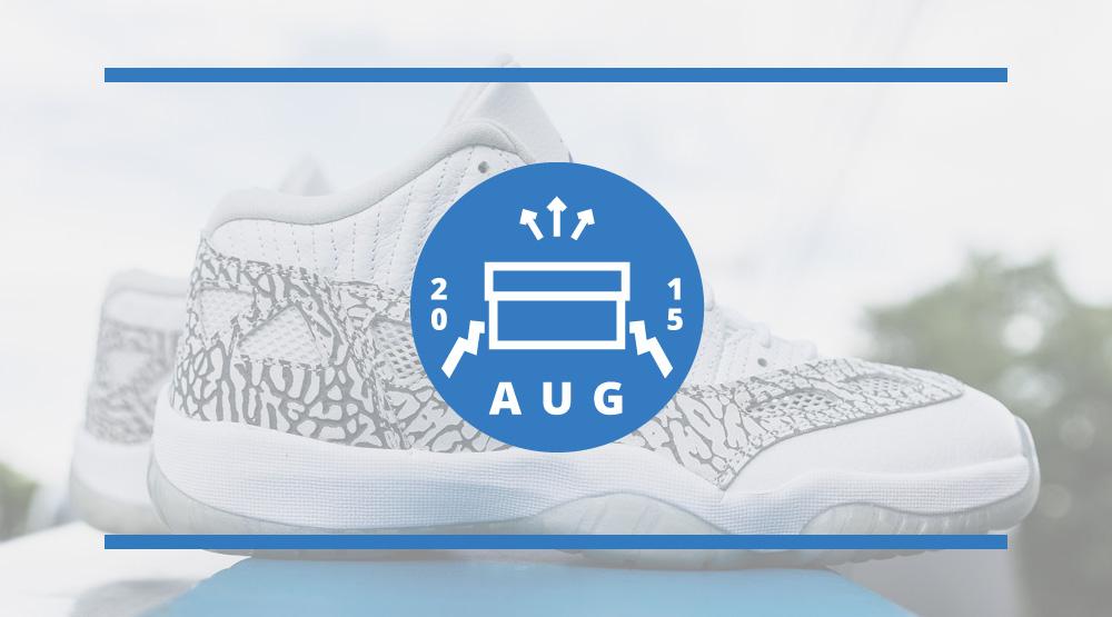 best sneakers dd08a 9e99d Air Jordan Release Dates August 2015