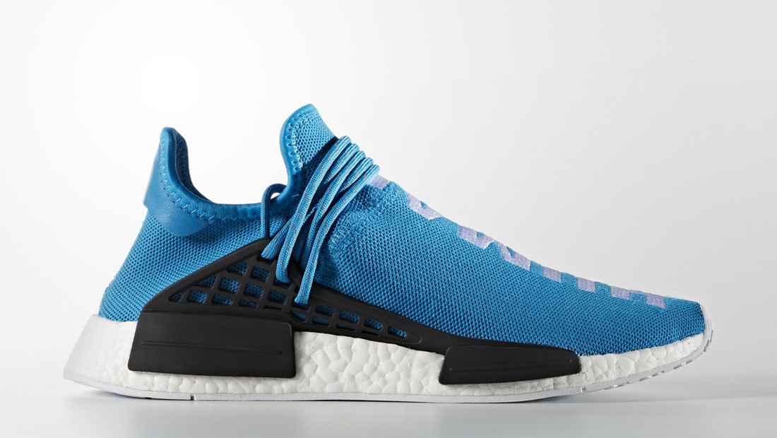 adidas HU NMD x Pharrell Williams Sharp Blue Sole Collector Release Date Roundup
