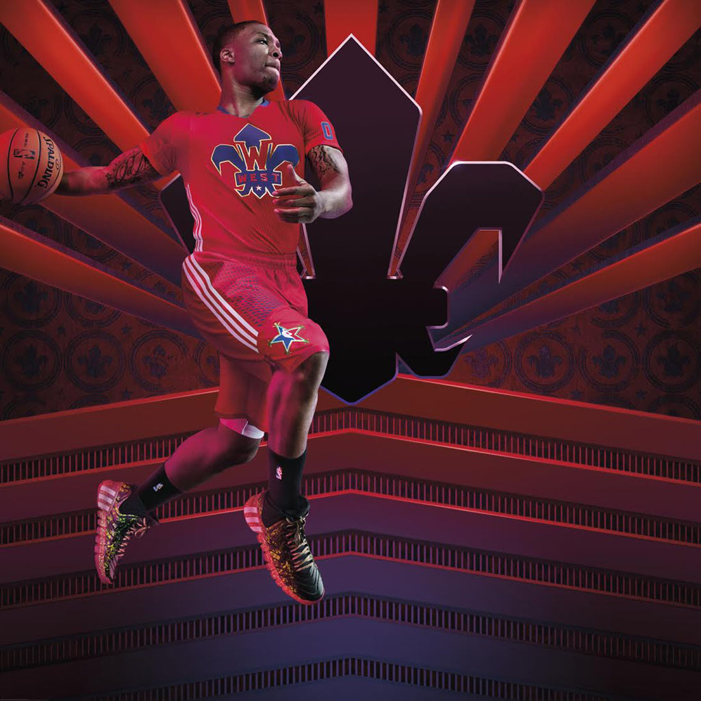 adidas in the Quarter All-Star Appearance Schedule