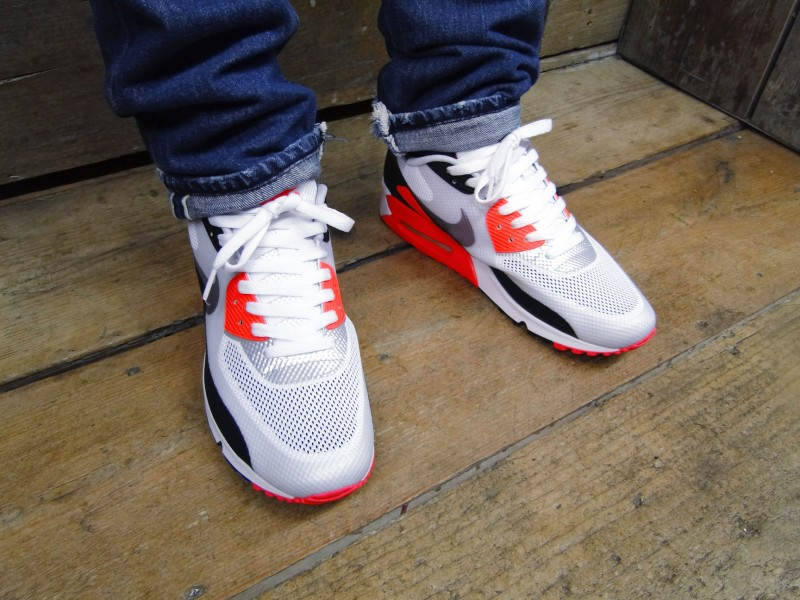 bcda06ae961e Nike Air Max 90 Hyperfuse - Infrared - Detailed Images