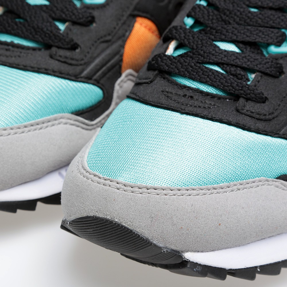 West NYC x Saucony Shadow 5000 Tequila Sunrise aqua toe