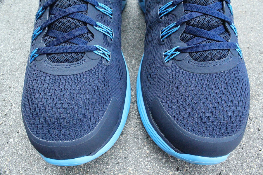 Nike Lunarglide+ 4 Midnight Navy Reflective Silver Blue Glow 524977-404 (3)
