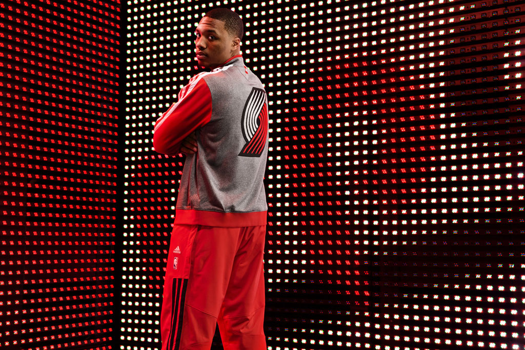 adidas 2013-2014 NBA On-Court Collection // Damian Lillard (1)