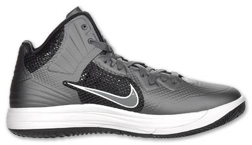 Nike Lunar Hypergamer Grey Black White 469756-009 2