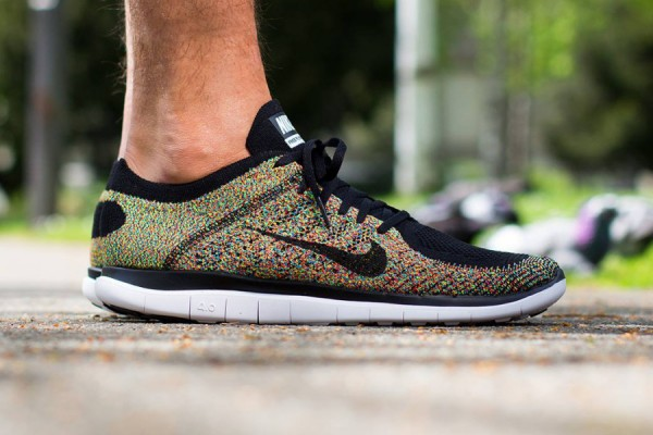 best website cb022 436fe Nike Free Flyknit 4.0 - Multi-Color | Sole Collector
