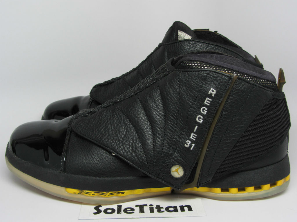 Air Jordan XVI 16 Reggie Miller Away PE (1)