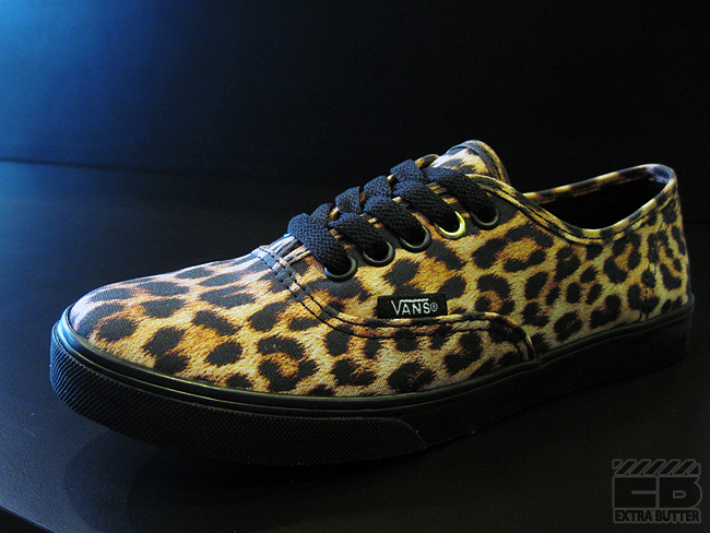 15c713c211 Vans Authentic Lo Pro - Leopard   Zebra