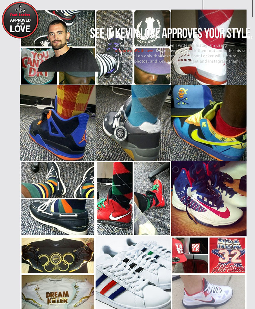 Foot Locker and Kevin Love Launch #ApprovedWithLove (1)