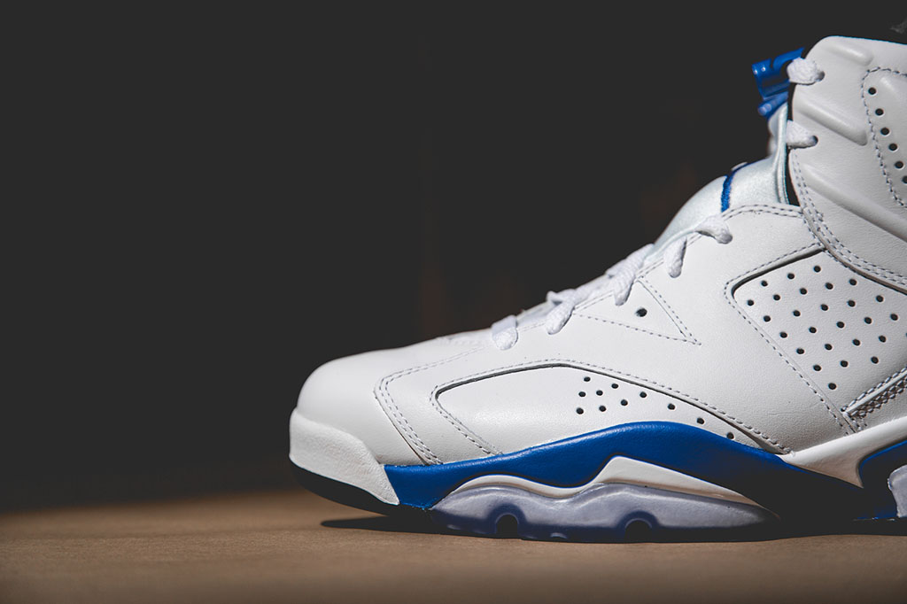 733c11832dc4 Air Jordan 6  Sport Blue  From All Angles
