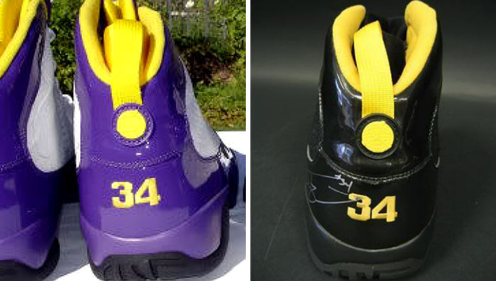 XX8 Days of Flight // The Rare Shaquille O'Neal Air Jordan IX PEs