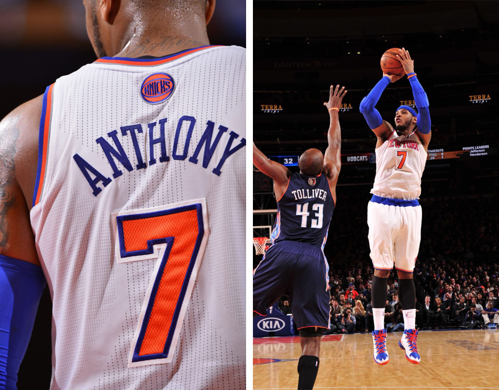 Carmelo Anthony Scores 62 Points in 'Knicks' Jordan Melo M10 (3)