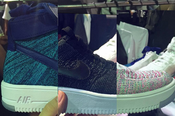 28fdf133e97 Here s A Preview of a Trio of Upcoming Nike Air Force 1 Ultra Flyknits