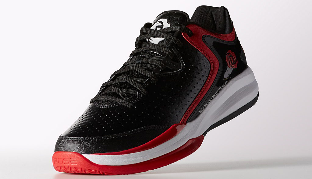brand new 0bbe9 98963 adidas D Rose Englewood III - BlackRed (4)