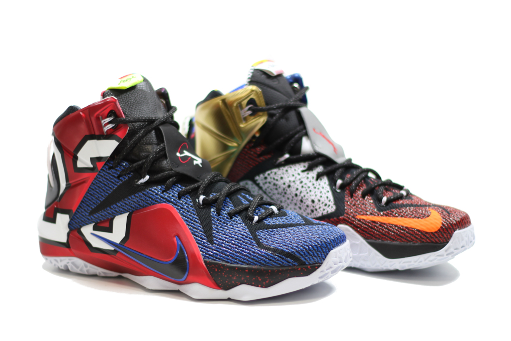 The 'What The' Nike LeBron 12 Releases This Weekend | Sole ...