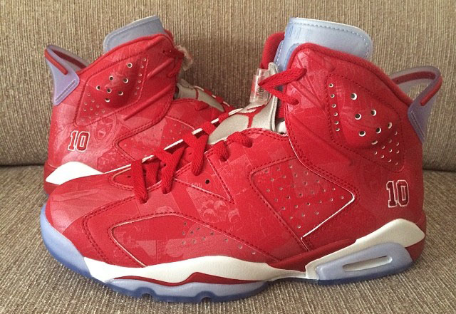 Air Jordan VI 6 Retro Slam Dunk Manga 717302-600 (11)