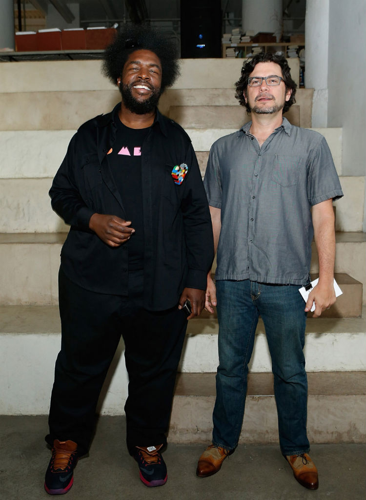 questlove wears air jordan 3 retro quotjokerquot amp lebron x