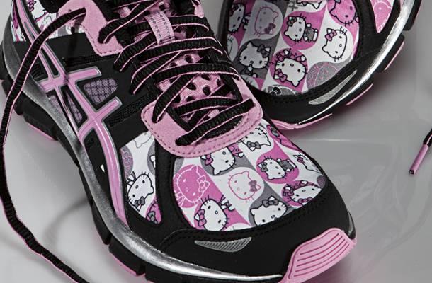 Sanrio x ASICS Run with Hello Kitty Running Collection - Holiday 2011
