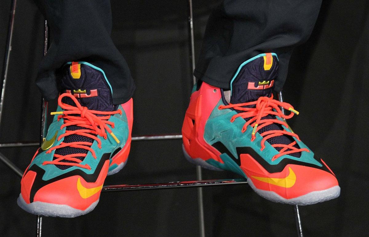 Nike Lebron Zoom Soldier VII 554671 601 BCA Pink Basketball