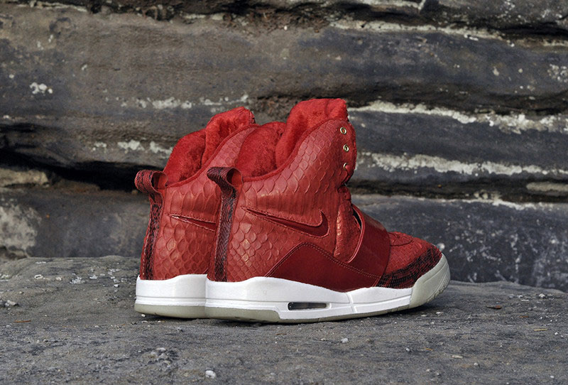 Nike Air Yeezy 'Red October' by JBF Customs (2)