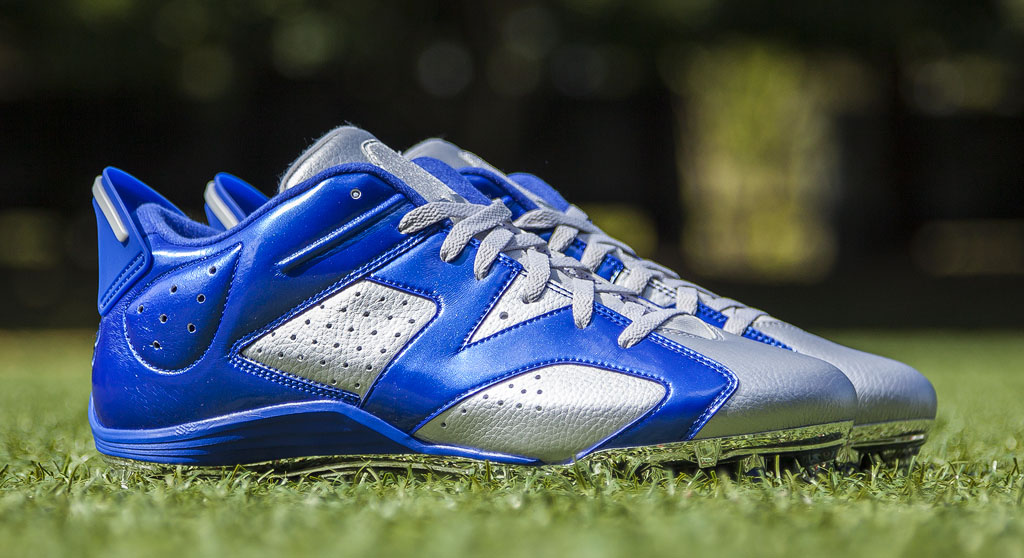 Dez Bryant's Air Jordan VI 6 Cowboys PE Cleats (1)