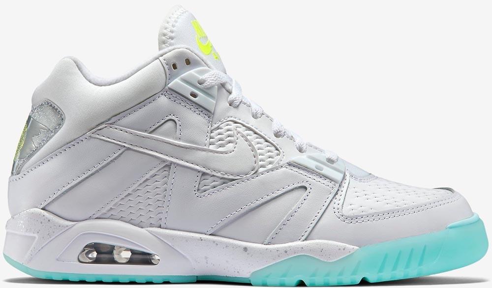 Nike Air Tech Challenge III White/Volt-Metallic Silver-White